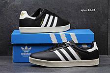 Мужские кроссовки Adidas 350 черно-белые, фото 2