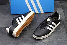 Мужские кроссовки Adidas 350 черно-белые, фото 3
