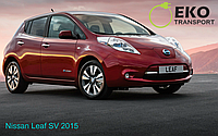 Электромобиль Nissan Leaf SV 2015 год