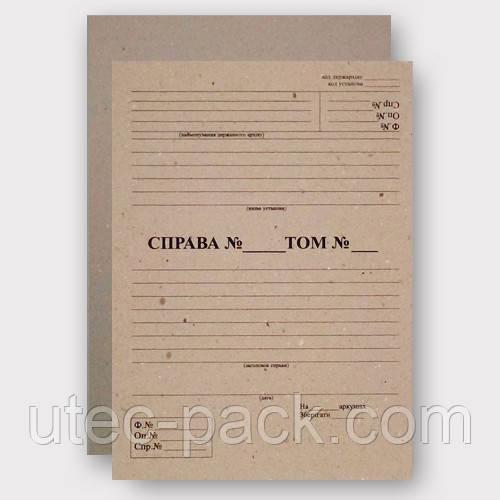 Обкладинка для документів 2,00 мм Формат 320*230 Упаковка 25 комплектів