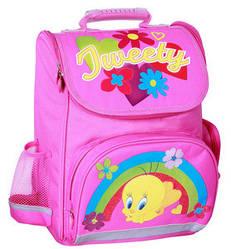 """Мультяшний шкільний рюкзак з малюнком для дівчинки 6+ CFS 14"""", """"Tweety"""""""
