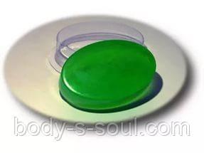 Пластиковая форма для мыла Мини/Овал