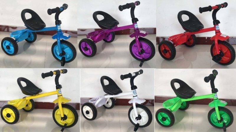 Детский трехколесный велосипед Tilly Trike (T-314) с корзинкой