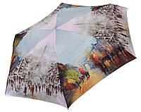 Женский зонт Zest МИНИ  Осень в Париже (механика)  арт. 253625-9