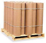 Размотка бумаги оберточной на рулоны  от 10кг