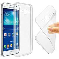Силиконовый чехол Clear TPU Case 0.5 mm для Samsung J120 (J1 2016)