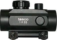 Прицел Tasco 1х35 коллиматорный с креплением 21 мм на планку Weaver