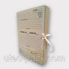 Папка архівна А4 на зав'язках. Висота корінця 30 мм