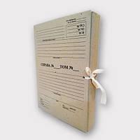 Папка нотариальная на завязках. Высота корешка 30 мм, фото 1