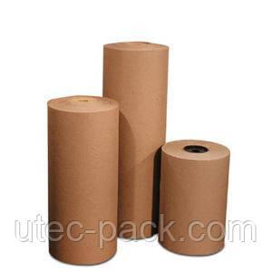 Крафт бумага ОПТОМ, размотка рулонов большого веса