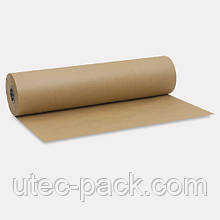 Крафт бумага ЮТЭК в рулонах 25м. Плотность 80 г/м2.