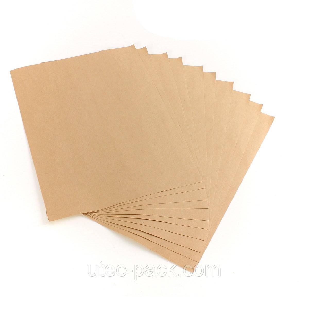 Упаковочная крафт бумага А4 80 г/м2 (250 листов в упаковке)