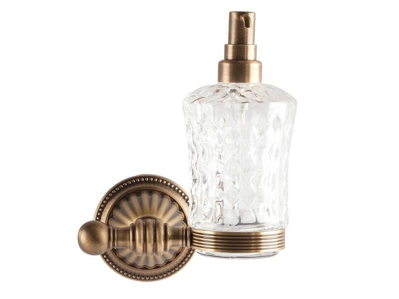 Дозатор для жидкого мыла Kugu Hestia 914A, бронза