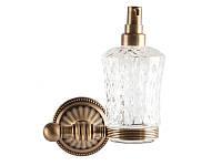 Дозатор для жидкого мыла Kugu Hestia 914A, бронза, фото 1