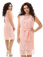 Красивое платье, р-р 48-54 (в расцветках)