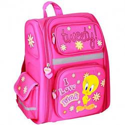 """Мультяшний шкільний рюкзак CFS з малюнком для дівчинки 14"""", """"Tweety"""""""