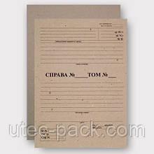 Картон для обкладинки архівних справ 2,00 мм Формат 320*230 Упаковка 25 комплектів
