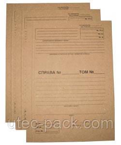 Картон для обкладинки з титульним аркушем 1,50 мм Формат 320*230 Упаковка 25 комплектів