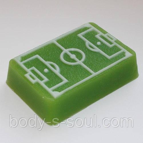 Пластиковая форма для мыла Футбольное поле