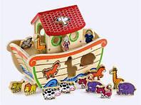 Деревянная игрушка-сортер Ноев ковчег 50345 Viga Toys