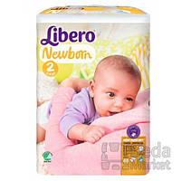 Подгузники Libero Newborn, размер 2 (3-6 кг), 88 шт.