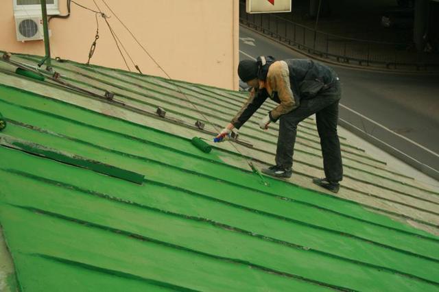 Краски для оцинкованных и металлических крыш