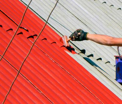 Краски для шиферных крыш
