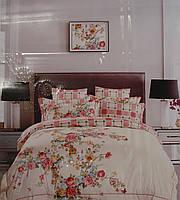"""Комплект элитного двуспального постельного белья MAISON D""""OR 100% шелк."""