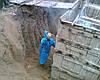 Заливка бетонных ростверков