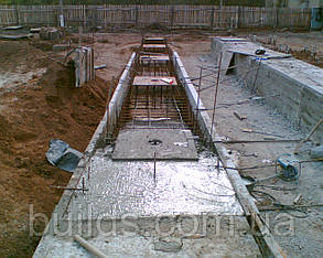 Заливка бетонных ростверков, фото 2