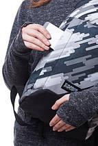 Рюкзак B5 H GREY, фото 3