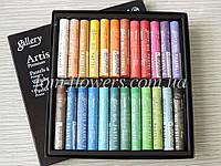 Пастель масляная мягкая Mungyo 24 цвета, проф., фото 1