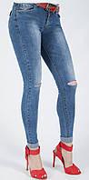 Рваные молодёжные женские джинсы Cudi SH9790, фото 1