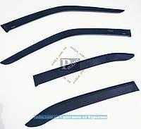 Дефлекторы окон OPEL Kadett E 5d хетчбэк 1984-1991 (на скотче) ветровики Опель Кадет