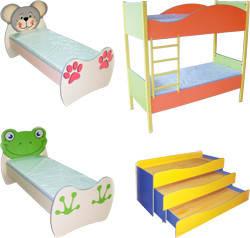 Ліжка для дитячих садочків