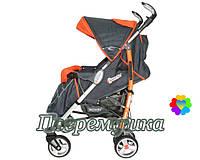 Коляска прогулочная DolcheMio SH638APB-Black-Orange