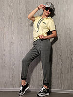 Спортивный костюм двунитка ,порезы на коленях