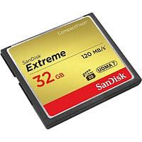 Flash карточка SanDisk CF 32GB Extreme R120/W85MB/s (SDCFXSB-032G-G46)