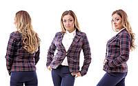Стильный женский пиджак, р-р 48-54
