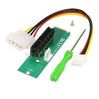 Переходник PCI-E 4x для M.2 FLop + Molex 4pin