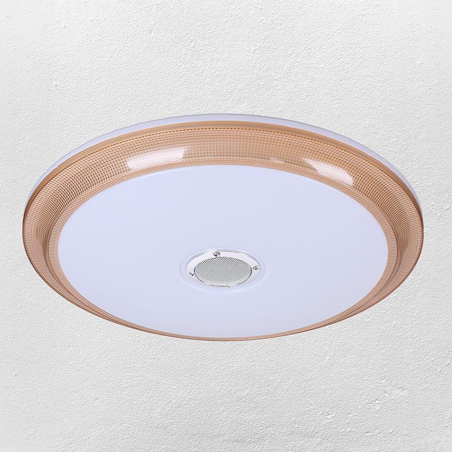 Люстра стельова світлодіодна (62-HS002 LED 24+24W 500 mm)