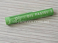 Пастель масляная мягкая Mungyo №227 Yellow Green, фото 1