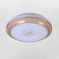 Люстра потолочная светодиодная  (62-HS004 LED 18+18W 400 mm)