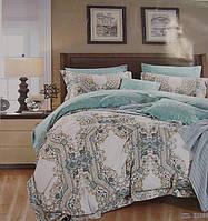Комплект элитного двуспального постельного белья Maison D'or 100% шелк.