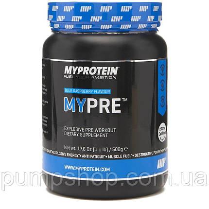 Предтренировочный комплекс Myprotein MyPre 500 г, фото 2