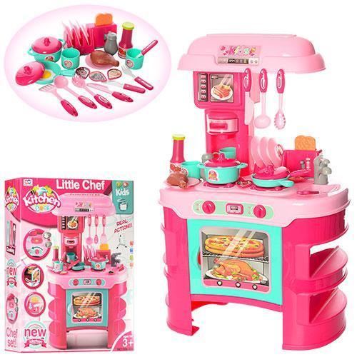 Игровой набор Кухня  LITTLE CHEF 008-908А, 69 СМ ВЫСОТА, СВЕТ, МУЗЫКА