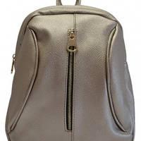 Рюкзак стильный серебро
