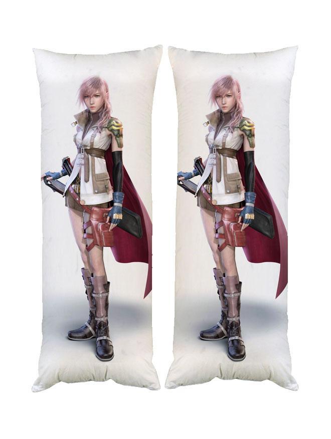 Подушка дакимакура Последняя Фантазия Final Fantasy 40*100 см двухсторонняя со съёмной наволочкой (dak0126)