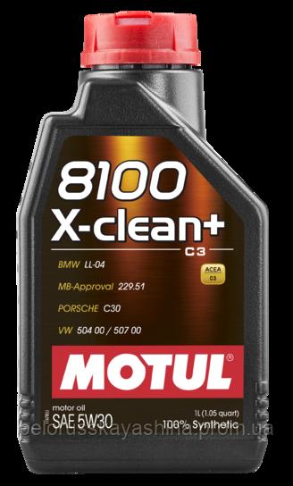 MOTUL 8100 X-clean+ SAE 5W30 (1L)