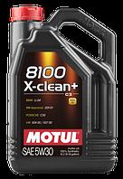 MOTUL 8100 X-clean+ SAE 5W30 (5L)